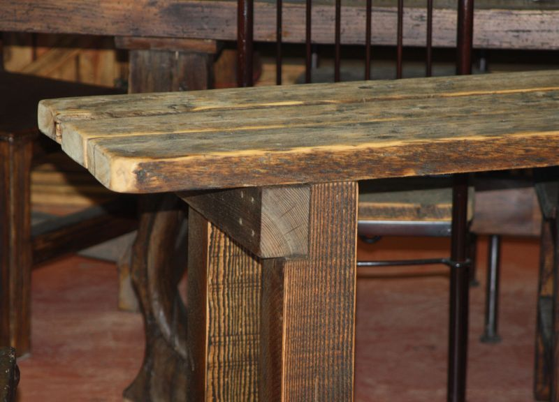 Barnwood Buffet Table, Style #3 - Durango Trail Rustic Furniture, Bragg  Creek,