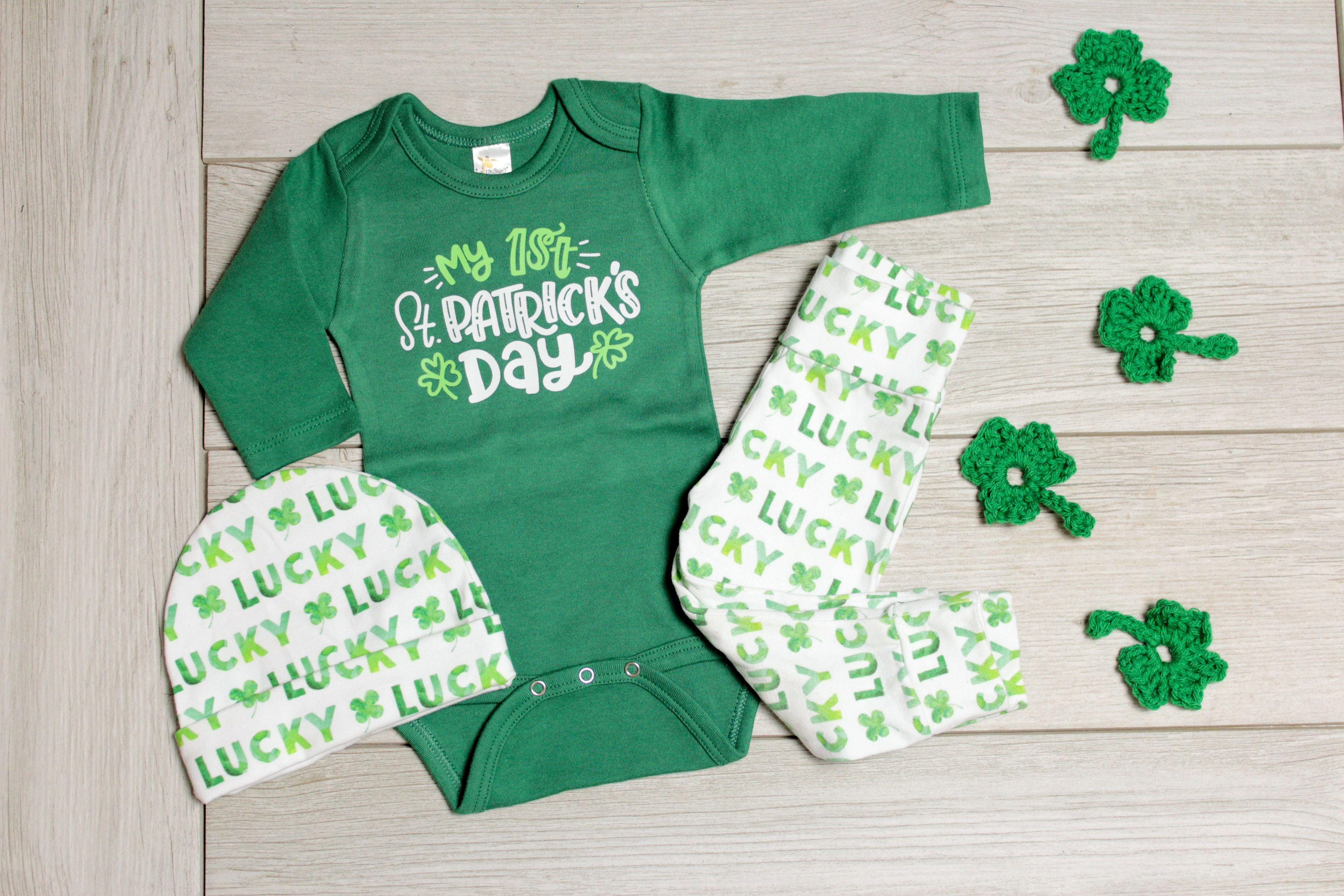 1st St Patrick s Day Green Set