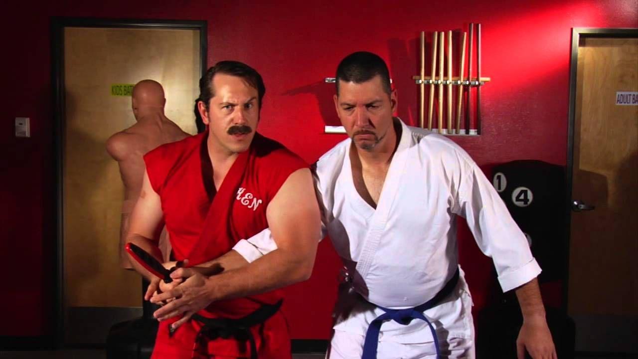 Enter the dojo ameridote knife defense 1 masterken