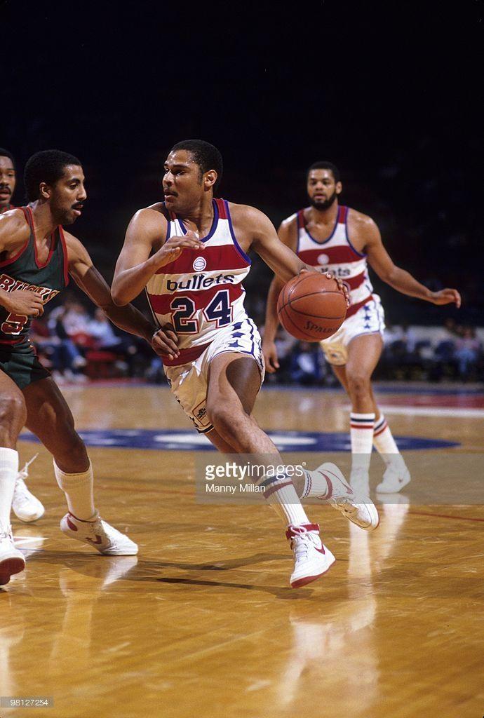 Washington Bullets Jeff Malone (24) in action vs Milwaukee Bucks. Landover, MD 3/4/1984