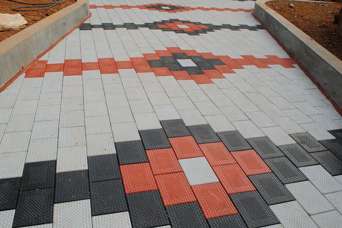 Photos Of Interlock Tiles Pavement Done By Holyfamilydesigner