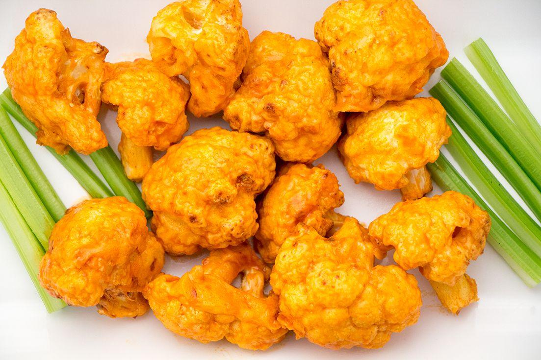 Air Fryer Cauliflower Wings Recipe Air Fryer Recipes