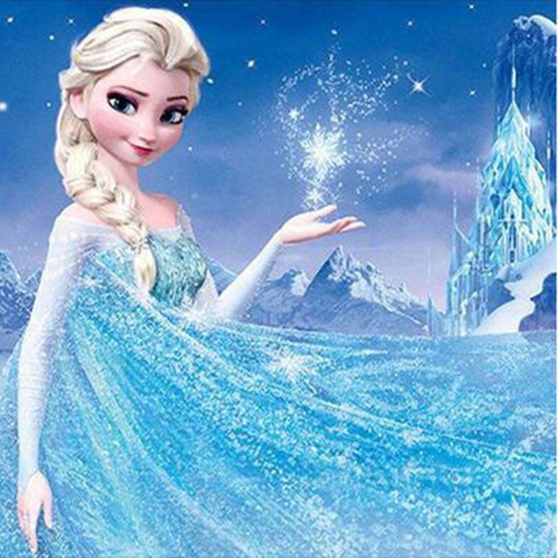 Frozen Elsa Diamond Painting Kit Paint With Diamonds Kit Disney Princess Frozen Frozen Wallpaper Disney Princess Wallpaper