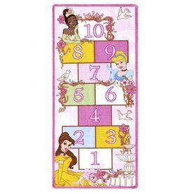 Disney Princess Hopscotch Rug 19 98 Lowes Home
