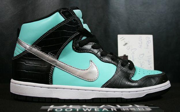 """07393fa0a96e Nike Dunk High Pro SB """"Tiffany"""" More Images"""