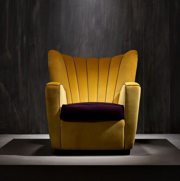 Marvelous Zarina Armchair By Adele C Good Looking