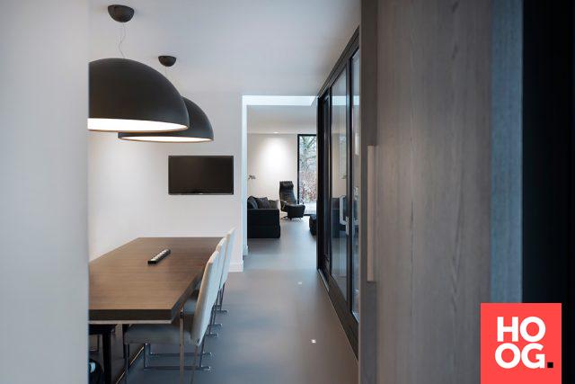 Werkkamer met luxe interieur cuisine
