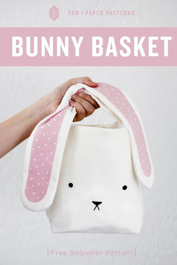 35 super cute easter basket ideas bunny easter and easter baskets 35 super cute easter basket ideas negle Images