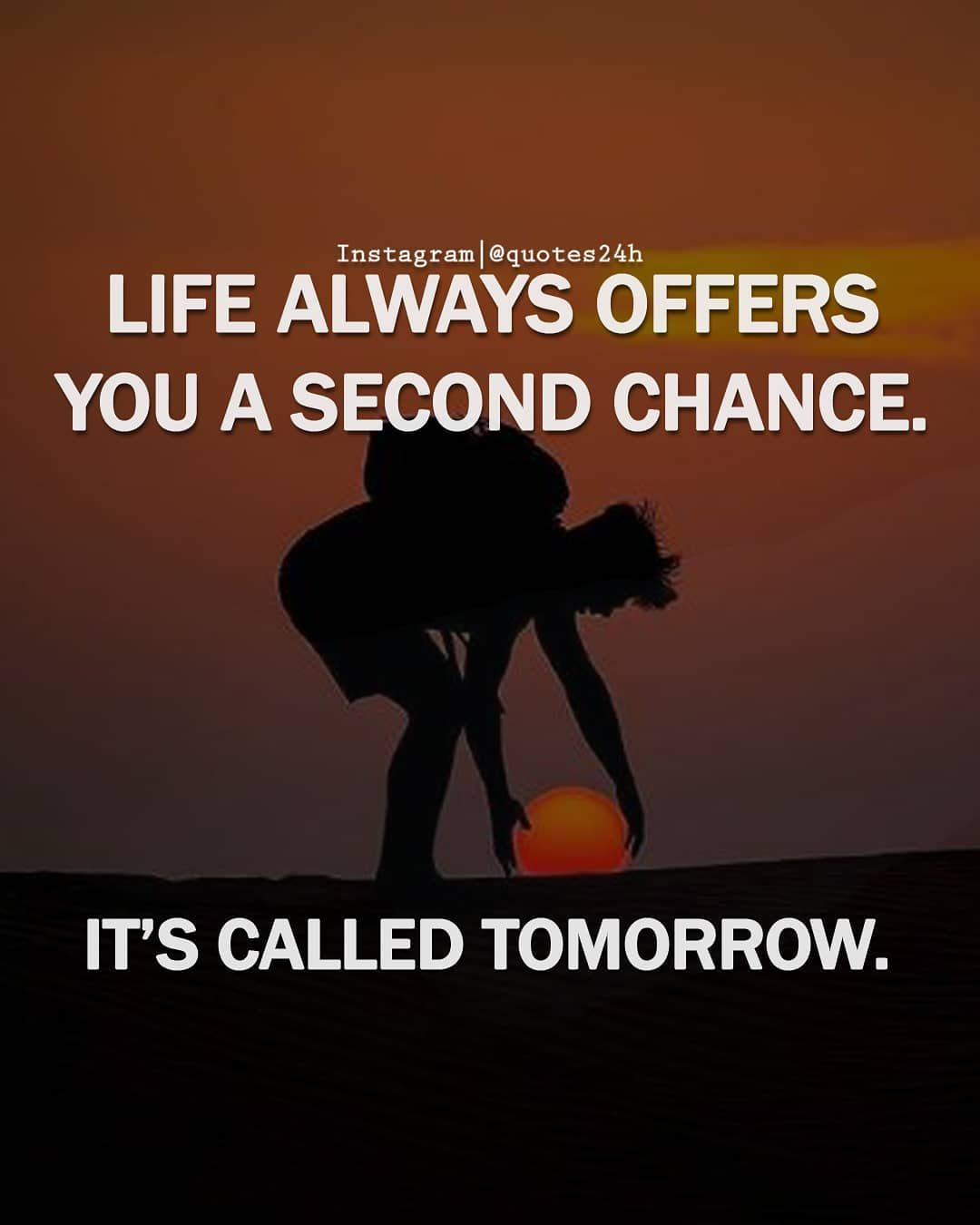 There Is No Such Thing As A Second Chance In God S Book Books Second Chances God