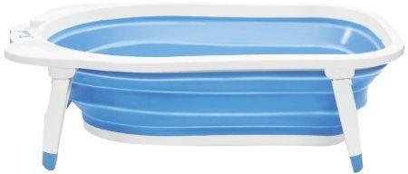 Amazon.com: Karibu Folding Bath - Blue: Baby