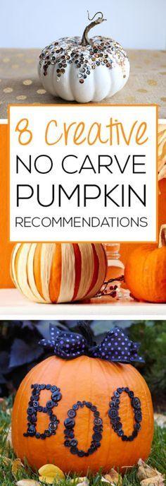 8 creative no carve pumpkin recommendations