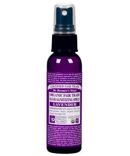 Dr Bronner Organic Lavender Hand Sanitizer 59ml Hand Sanitizer