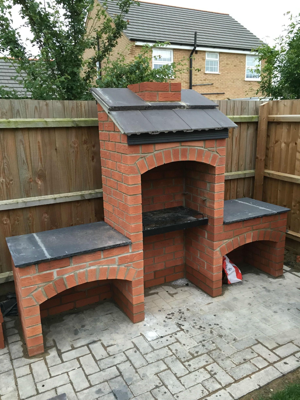 Imgur Brick Built Bbq Brick Bbq Masonry Bbq