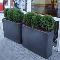 Superb The Serralunga Vaso Large Outdoor Planter Is Perfect Indoors Or For The  Patio Or Garden.
