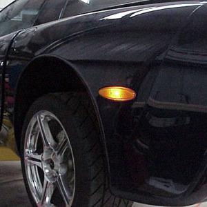 Performance Corvettes Corvette C5 European Amber Side Marker Lamps Corvette C5 Corvette Easy Install