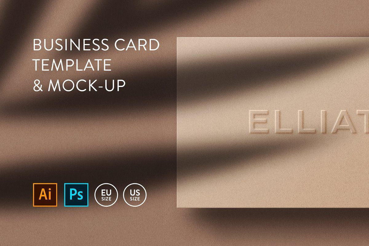 Business Card Template Mock Up Business Cards Creative Templates Business Card Template Business Cards Creative