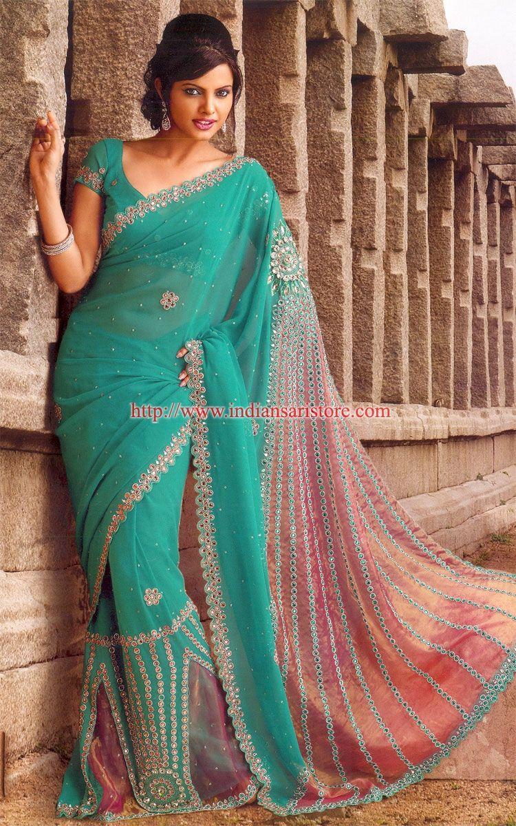 indisk tøj sari