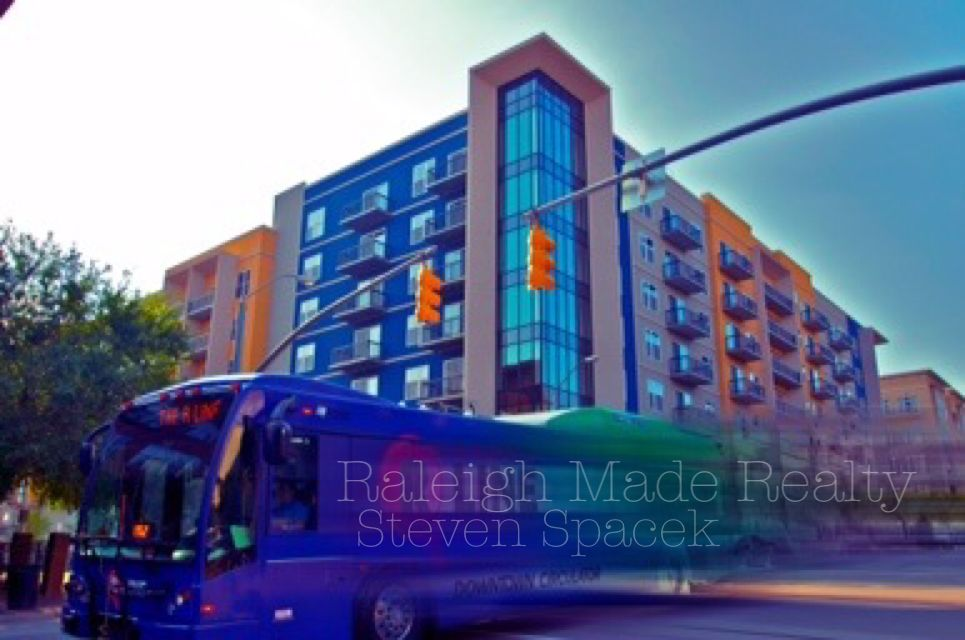 Raleigh, NC. The Hue Condo. Downtown Real Estate. Great place to rent in the Warehouse Art District. Steven Spacek 919.637.2410