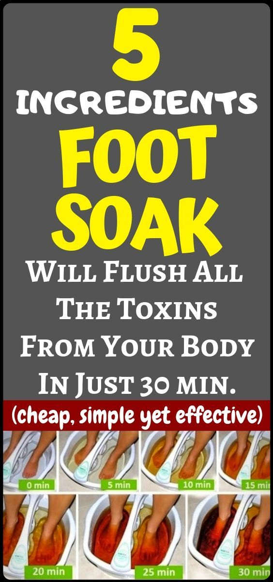 #ingredient #effective #fitness #simple #health #detox #cheap #this #foot #soak #will #your #body #a...