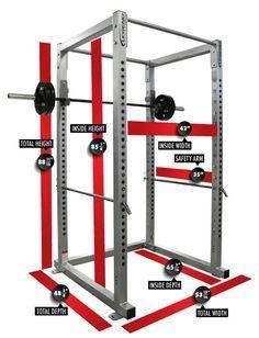 power rack measurements and dimensions  diseño de