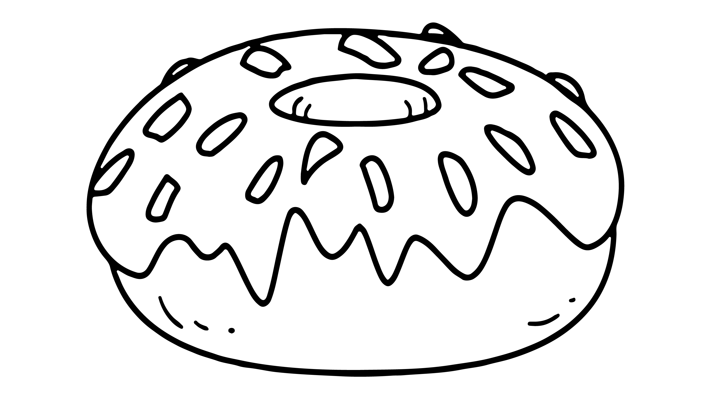 Bu Sefer Lezizmi Leziz Donut Cizip Boyuyoruz Biraz Daha Oyuncak
