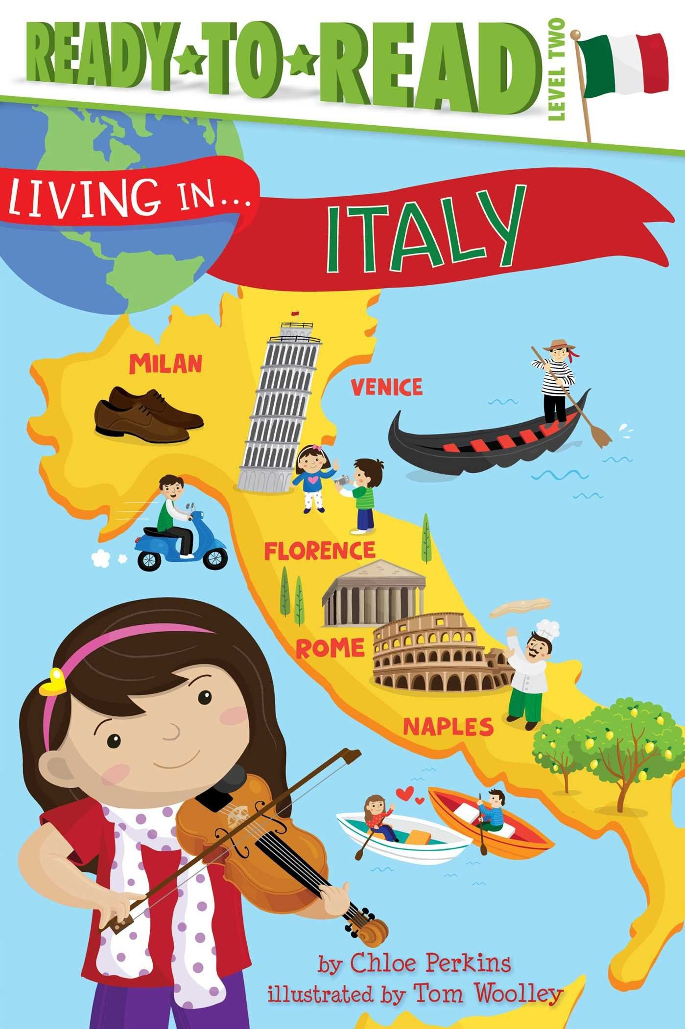 Map Of Italy For Children.Children S Books All About Italy Homeschool Italy For Kids