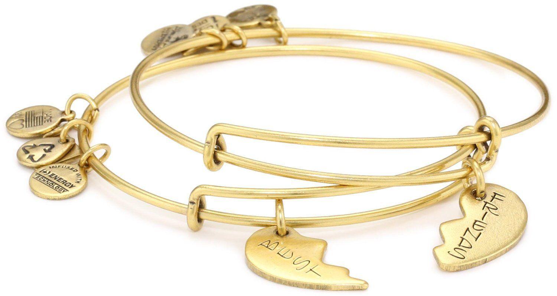 Charity By Design Best Friends Bangle Bracelet Set Of 2 On Wanelo