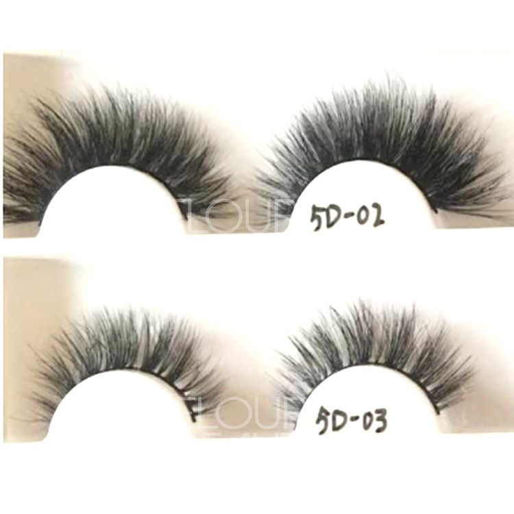 b16b2d3c761 Luxury and fluffy vivid mink 5D eyelashes China factory wholesale EL67