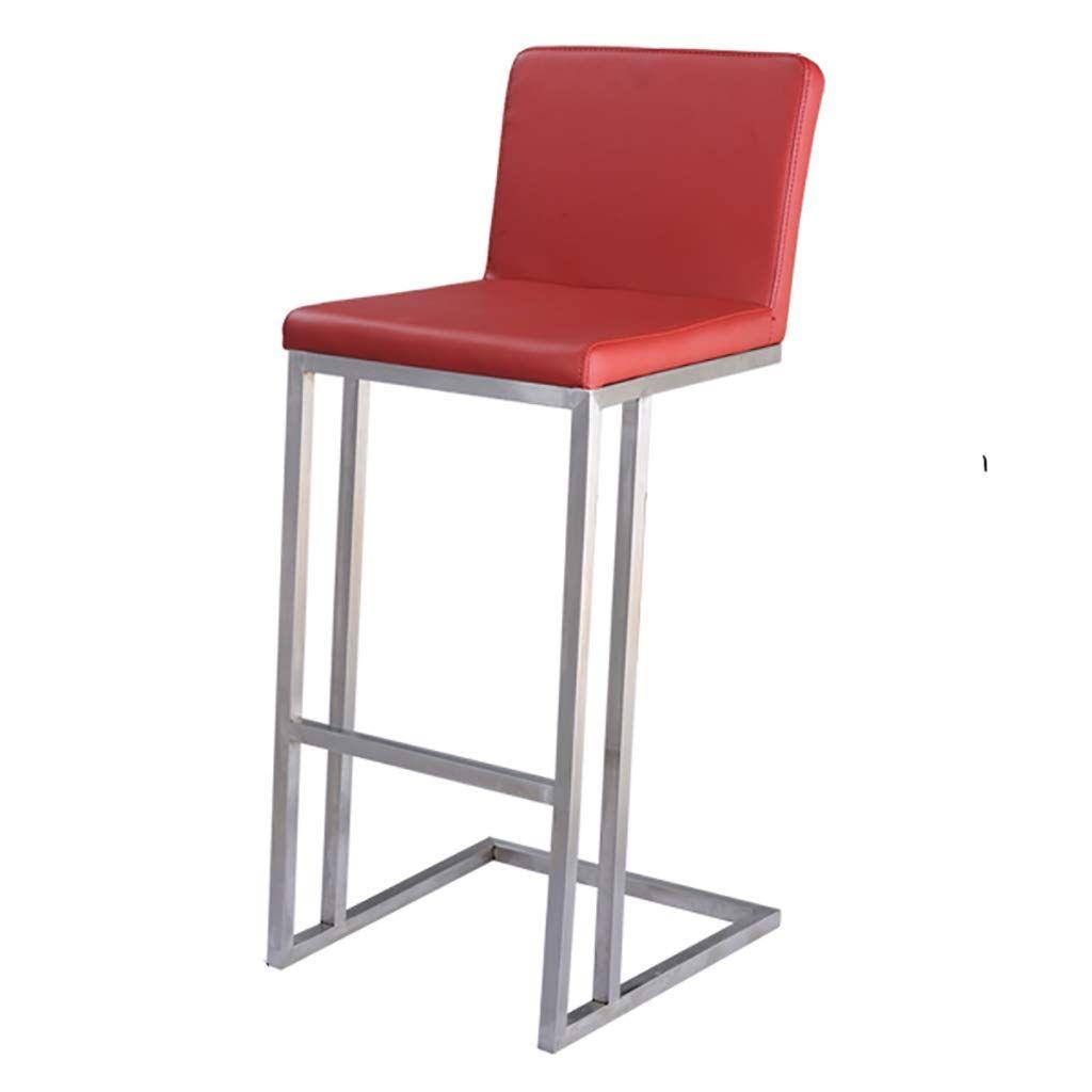 Mlx Bar Chair Bar Chair High Bar Counter Bench Front Desk Chair High Backrest Bar Stool Bar Chair Bar Bar Stools Stool Chair