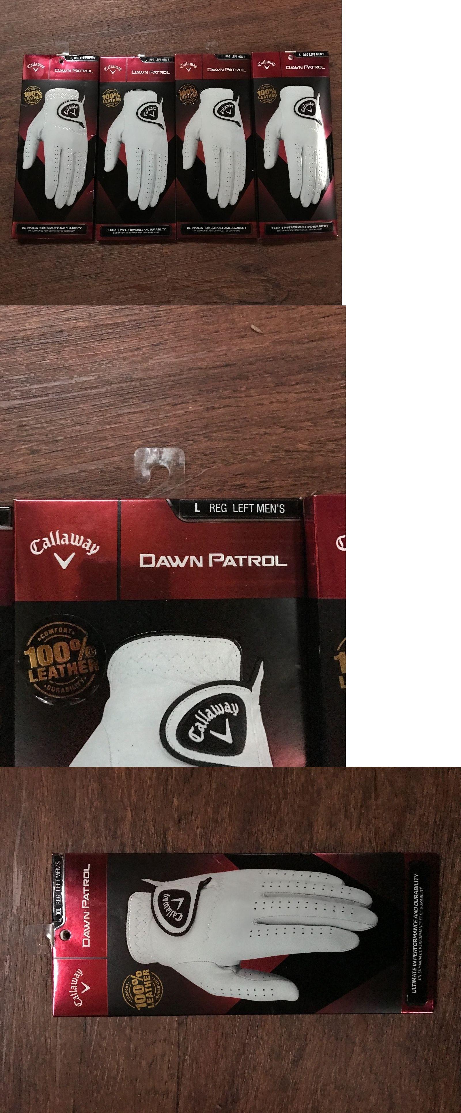 Mens gloves cadet - Golf Gloves 181135 New Lot Of 4 Callaway Mens Dawn Patrol Golf Glove