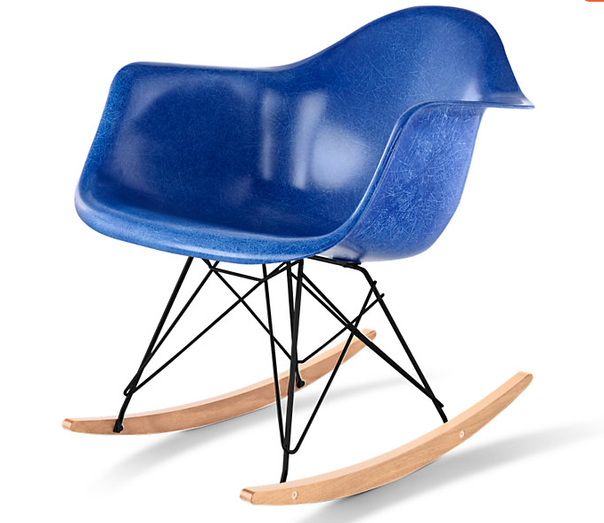 Perfect Authentic, Original And With A Five Year Guarantee: Eames® Molded Fiberglass  Rocker