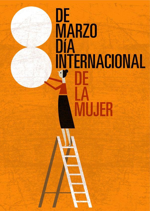 Cartel Dia De La Dona A Project By Milimbo Domestika Día De La Mujer Trabajadora Feliz Día De La Mujer Dia De La Mujer