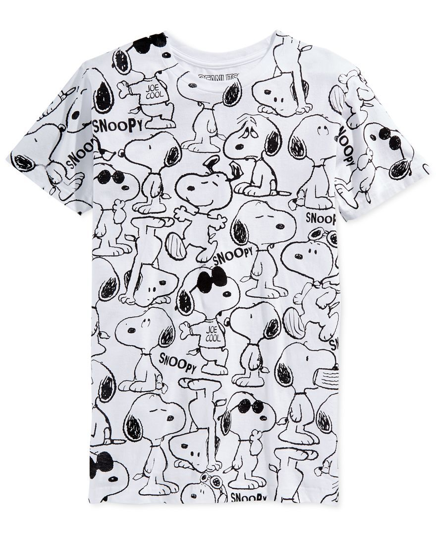 aa690e466 Rock your love of Snoopy with this fun, graphic T-shirt by Jem. | Cotton…
