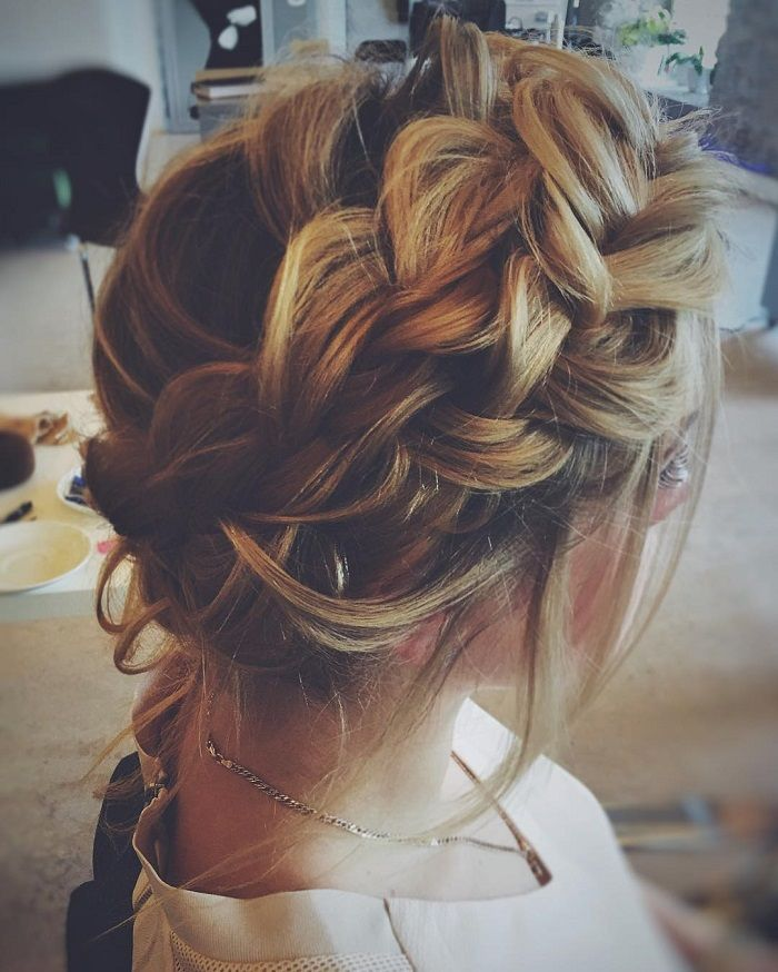 hair styles with extensions wedding updos with braids modern take on braids braid wedding hairstyles 8385