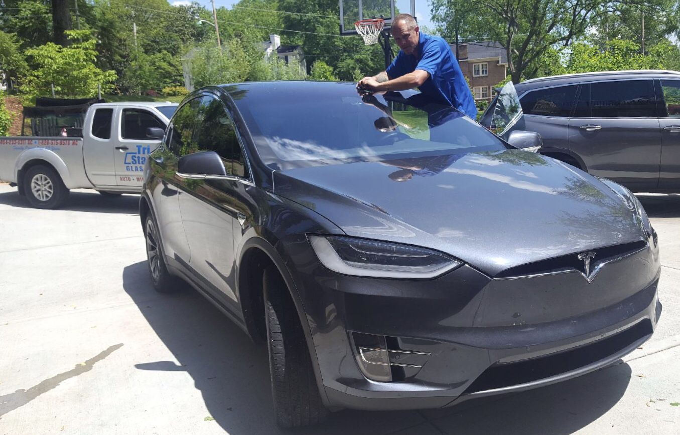 Shane Doing A Repair On A Very Nice Tesla Model X Tesla Model X