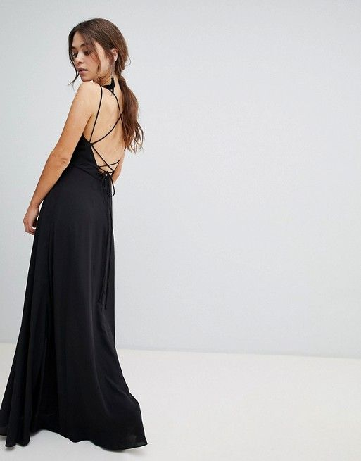New Look Strappy Back Maxi Dress in 2018 | fashion | Pinterest ...