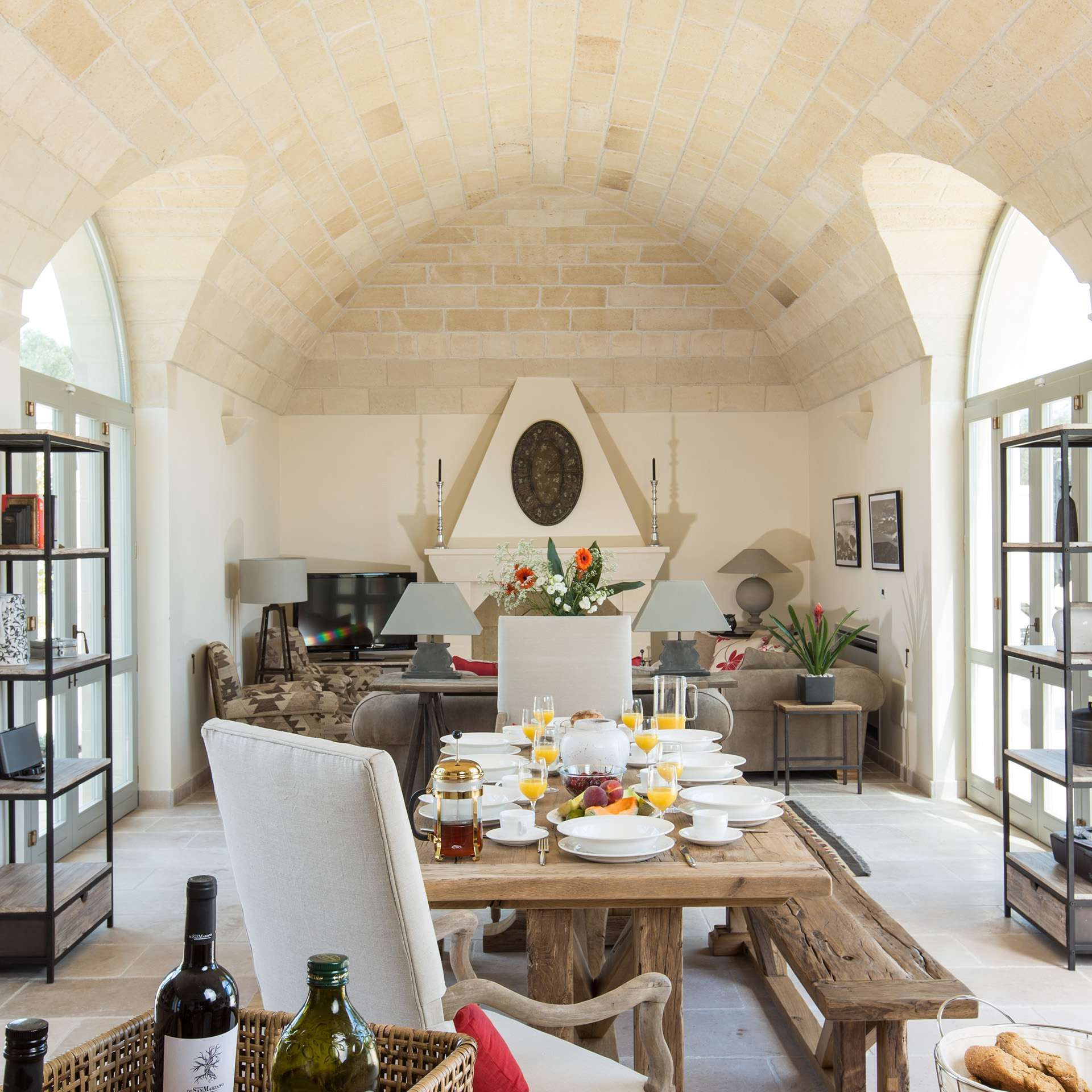 While modern in design and convenience, our Puglia