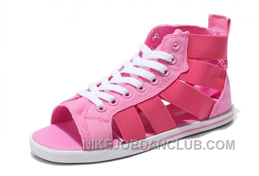 c3784fac46d Find the CONVERSE Open E Gore Pink All Star Roman Summer Sandals Cheap To  Buy at Footlocker. Enjoy casual shipping and returns in worldwide.
