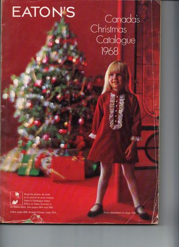 vintage 1968 toys barbie lego in eaton s 400 page canada s christmas catalogue