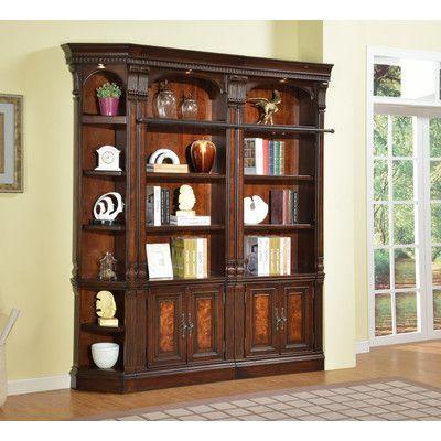 Astoria Grand Ramsey Library 3-Piece Corner Unit