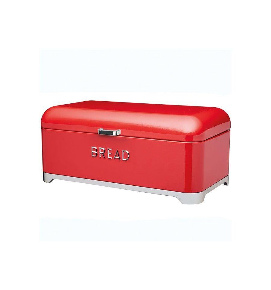 Panera metal retro style roja | We Love Red | Pinterest