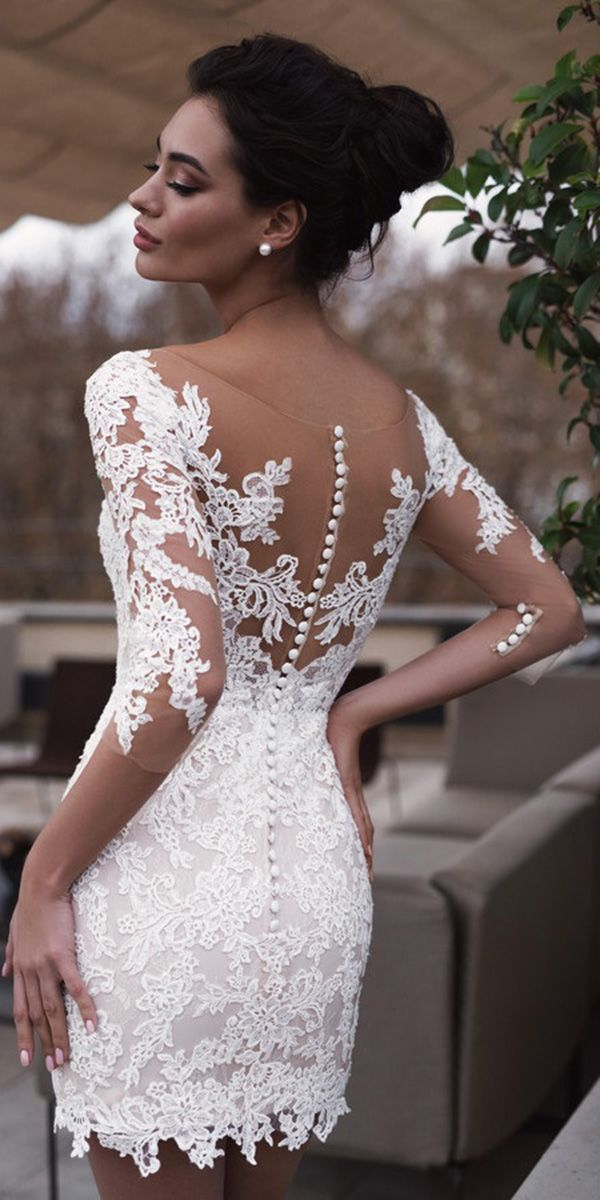 Photo of 24 Hot Sexy Short Wedding Dresses | Wedding Dresses Guide