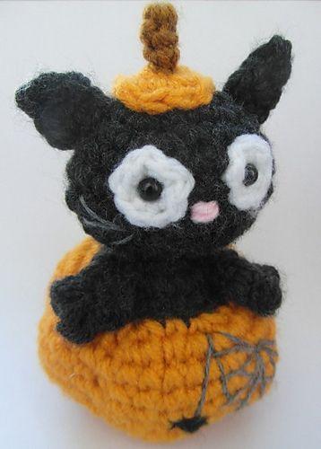 Ronnie the Halloween Cat ~ Free Amigurumi Pattern PDF Version ...