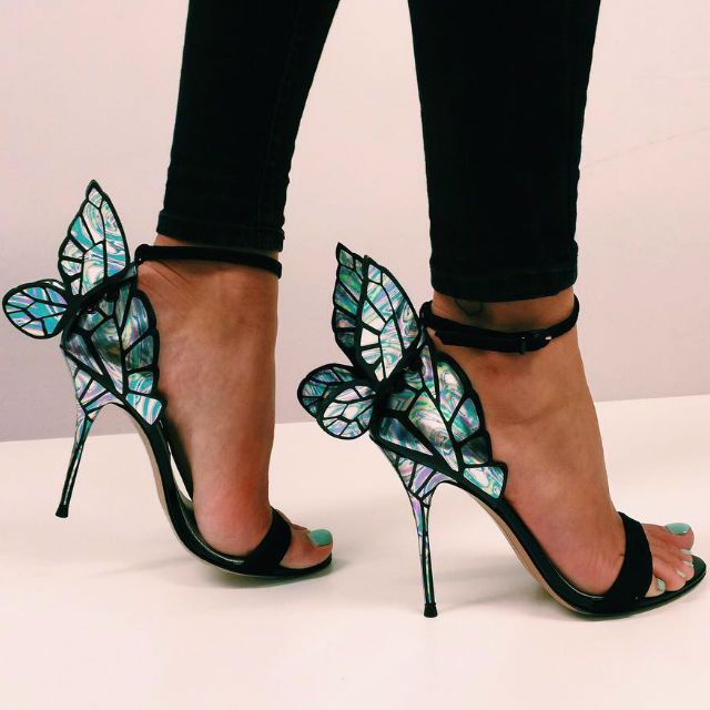 Sophia Webster Chiara Butterfly Sandals Designer Shoes