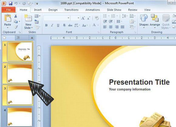 Presentation powerpoint slides