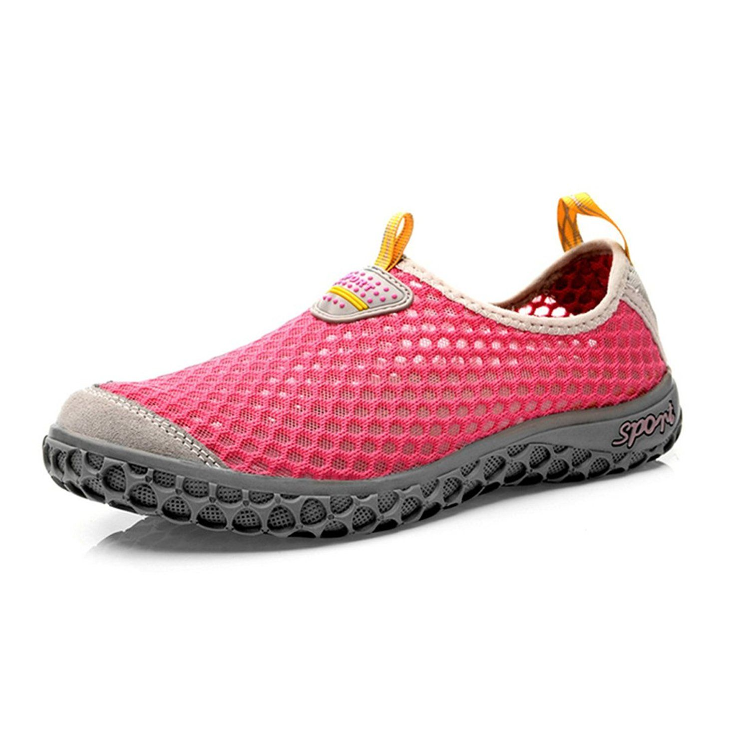 TDA Quick-Dry Water Shoes Beach Swim Shoes Aqua Socks Pool Barefoot Shoes For Water Sports Snorkeling Diving Swimming Surf Water Aerobics Yoga