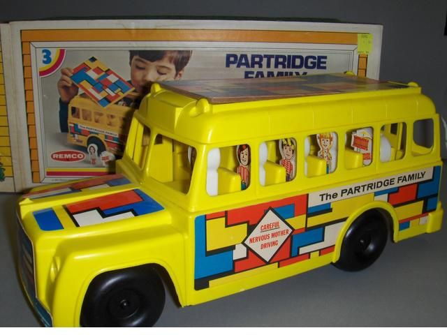 Remco The Partridge Family Bus With Images Partridge Family
