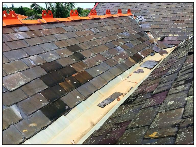Slate Roof Repairs Should Be Done Immediately To Prevent Further Damage Of Your House Metal Roof Repair Metal Roof Roof Repair