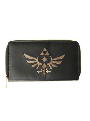 The Legend Of Zelda Triforce Zip Wallet