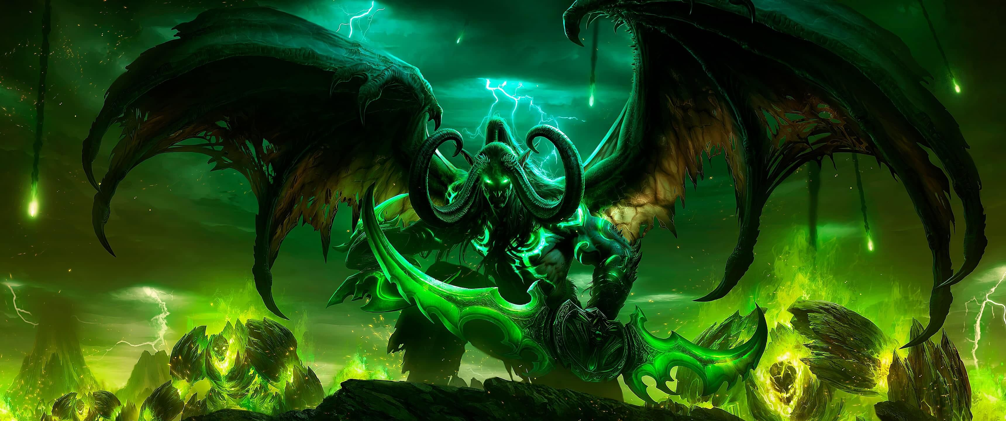 Ultrawide 21 9 Wallpaper Collection 3440 Updated Regularly Wallpaper Post In 2020 Dual Monitor Wallpaper Warcraft Legion Warcraft